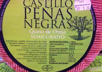 queso Castillo Peñas